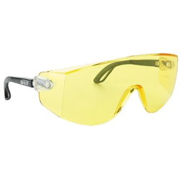 Infield Astor Safety Glasses, Yellow