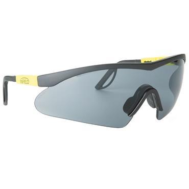 Infield Alligator Safety Glasses, Grey Lens