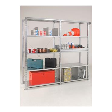 Galvanised Open Steel Sheet Shelving