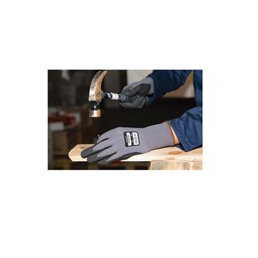 Aurelia Flex Ultra Black Nano Foam Nitrile Palm Coated Glove