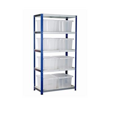 Eco-Rax Topbox Kit w/ 5 Shelves & Topbox Bins