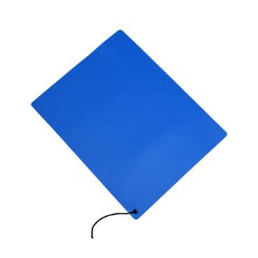 Solid Vinyl ESD Tabletop Mat, Dark Blue