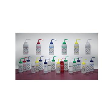 Scienceware, Safety Labelled Wash Bottles, Wide Mouth, Color Coded