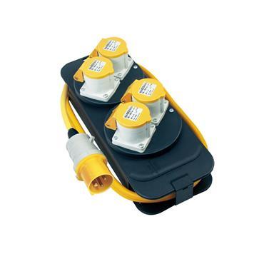 Brennenstuhl 1151413 Splitter Box CEE 4