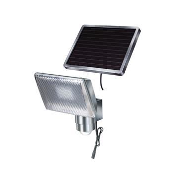 Brennenstuhl 1170840 Solar LED Spot SOL 80 ALU IP 44 with PIR sensor