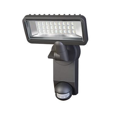 Brennenstuhl 1179610 Sensor LED Spotlight Premium City SH2705 PIR IP 44 with PIR sensor
