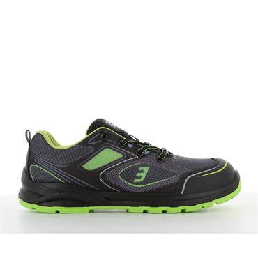 Safety Jogger CADOR S1P Sporty low-cut ESD safety shoe, Green