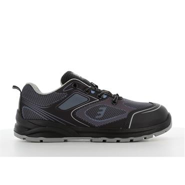 Safety Jogger CADOR S1P Sporty low-cut ESD safety shoe, Grey