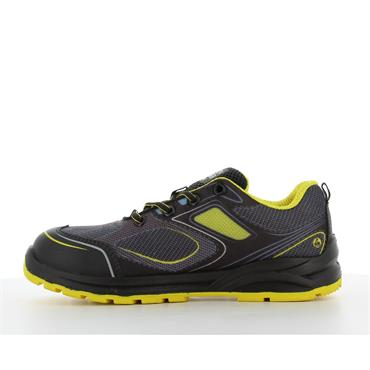 Safety Jogger CADOR S1P Sporty low-cut ESD safety shoe, Yellow