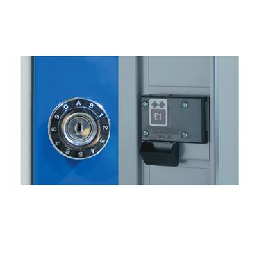 Combination & Coin Return Lock