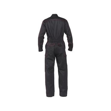 Dassy, Toronto Flame retardant overall w/ knee pockets, Black