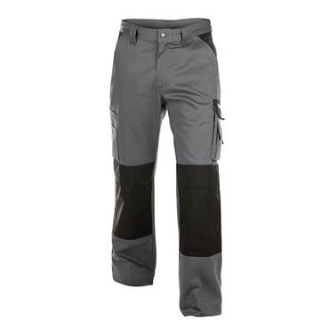 Dassy BOSTON Two-Tone Work Trousers, Grey / Black