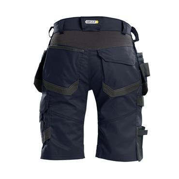 DASSY Trix (250083) Work shorts with stretch and multi-pockets, Navy/Grey