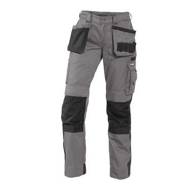 Dassy, Seattle, Womens Work Trousers, Grey/ Black