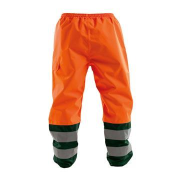 Dassy, Sola, Waterproof Work Trousers, Orange/ Green