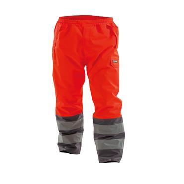 Dassy, Sola, Waterproof Work Trousers, Orange/ Grey