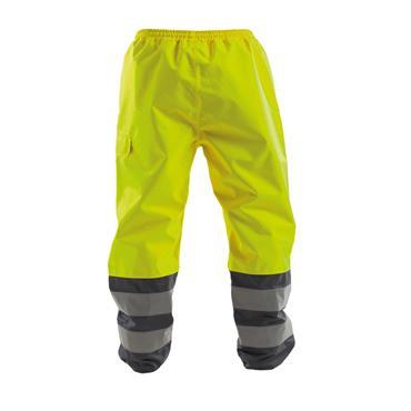 Dassy, Sola, Waterproof Work Trousers, Yellow/ Grey