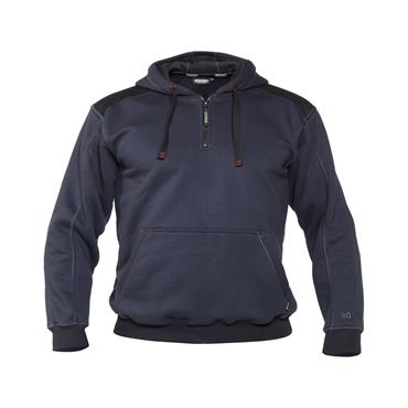 Dassy, Indy, Hooded Sweatshirt, Navy/ Black