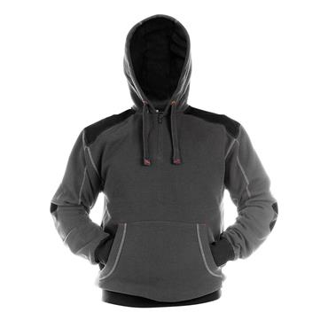 Dassy INDY Hooded Sweatshirt, Grey/Black