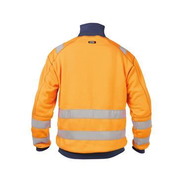 Dassy, Denver High visibility sweatshirt, Orange/Navy