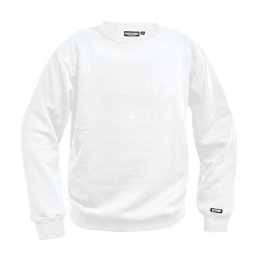 Dassy Lionel Painters Sweatshirt, White