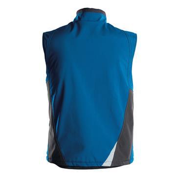 DASSY Fusion (350111) Blue Softshell body warmer