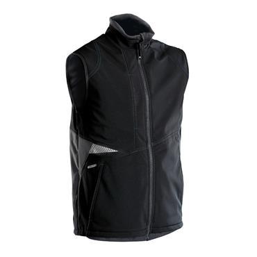 DASSY Fusion (350111) Black Softshell body warmer