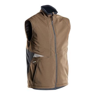 DASSY Fusion (350111) Brown Softshell body warmer