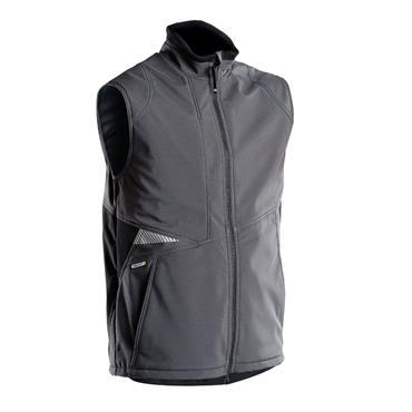 DASSY Fusion (350111) Grey Softshell body warmer
