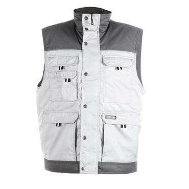 DASSY Hulst White/Grey (350051) Two-tone body warmer