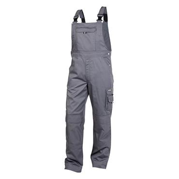 Dassy VENTURA Brace Overall with Knee Pockets, Grey