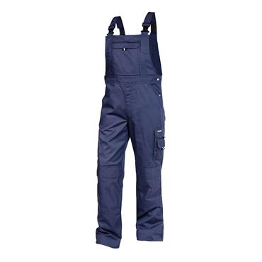 Dassy VENTURA Brace Overall with Knee Pockets, Navy