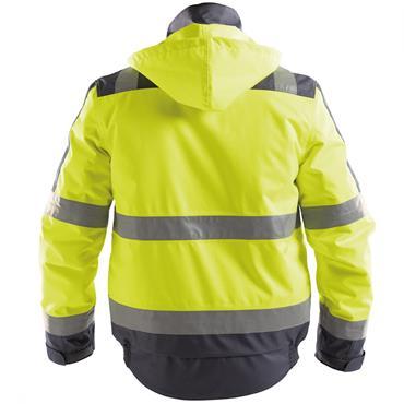 Dassy Lima (500120), High visibility Winter Jacket, Yellow/Navy