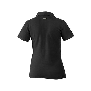 Dassy, Leon Women, Polo shirt, Black