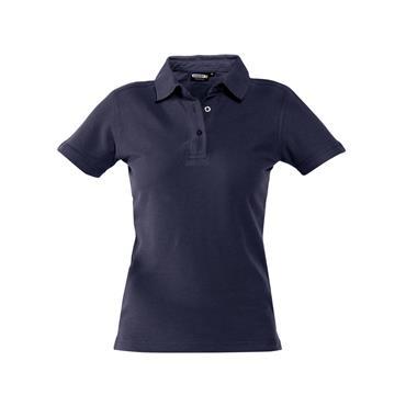 Dassy, Leon Women, Polo shirt, Navy