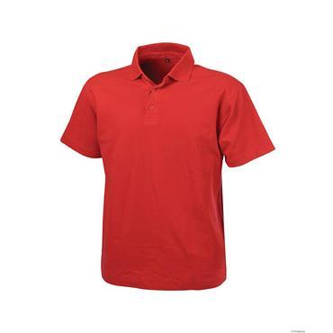 Dassy LEON Polo-Shirt, Red