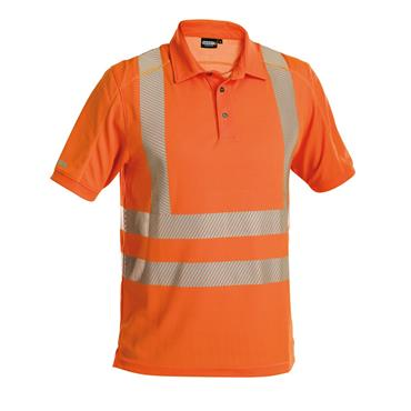 DASSY Brandon (710024) Orange High visibility UV polo shirt