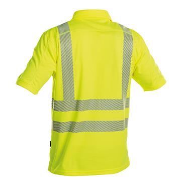 DASSY Brandon (710024) Yellow High visibility UV polo shirt