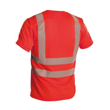 DASSY Carter (710027) Red High visibility UV T-shirt