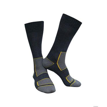 Dassy JUNO Wool Socks, Black/Grey