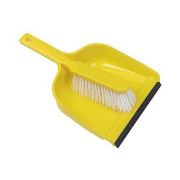 Plastic Dustpan / Brush Set Stiff