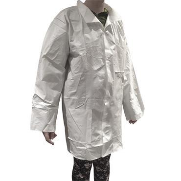 DanGuard, Lab Coat, White