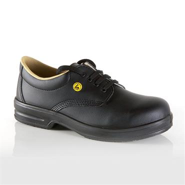 ESD Black Shoe, Steel-Toe