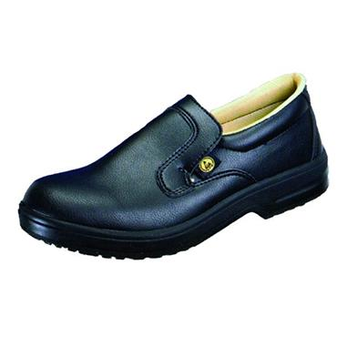 ESD Black Slip-On Steel-Toe Profi Shoe