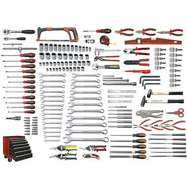Ega Master Universal Tool Set, 171 Pieces