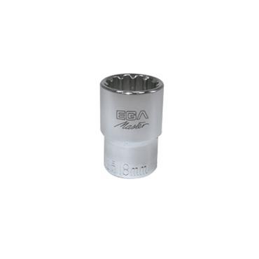 "Ega Master Socket Wrench 1/4"" Drive Spline"
