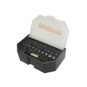 Ega Master 30 Piece Screwdriver Bits Set