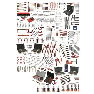 Ega Master Universal Tool Set, 633 Pieces