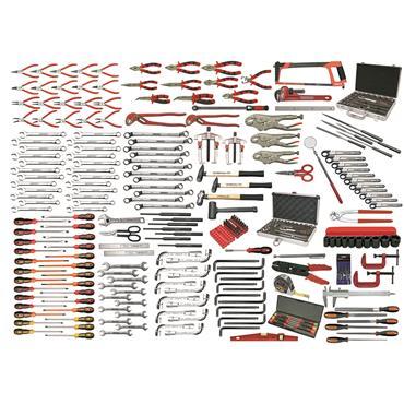Ega Master Industrial Maintenance Tool Set, 299 Pieces