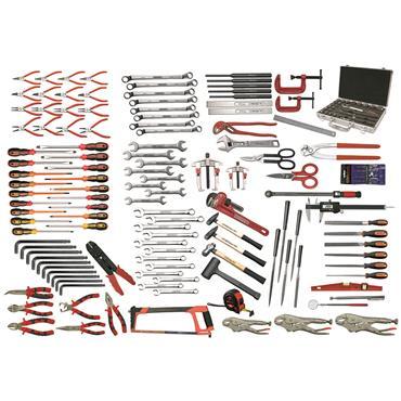 Ega Master Industrial Maintenance Tool Set, 152 Pieces